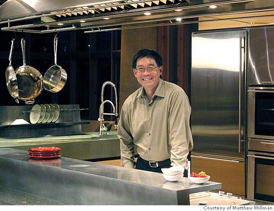 "Fu-Tung Cheng stands in a Napa kitchen, the project featured on the cover of his new book, ""Concrete at Home.'' MANDATORY CREDIT: Courtesy Matthew Millman. Photo: Courtesy Matthew Millman"