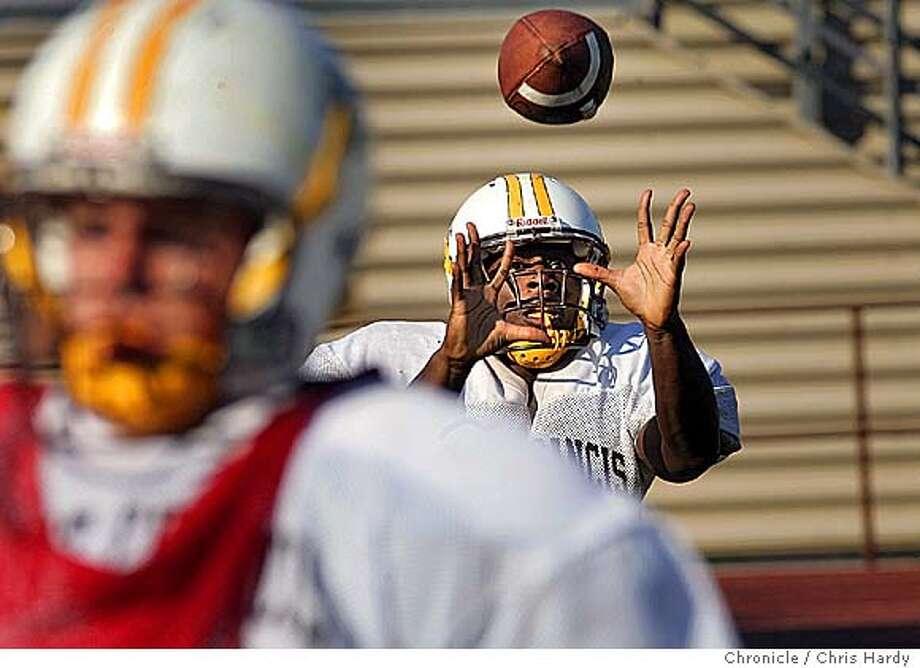 Chris Reese, an East Palo Alto resident and one of four team captains on the St. Francis High football team  Chris Hardy / San Francisco Chronicle Photo: Chris Hardy