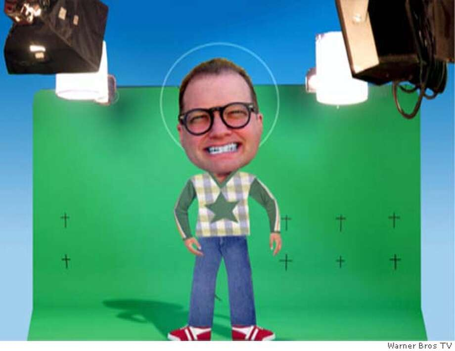 """WB20_001.JPG """"Drew Carey's Green Screen Improv Show""""  Pictured: Drew Carey �The Production Group / Warner Bros TV Datebook#Datebook#Chronicle#10/06/04#ALL#Advance##0422275117 Photo: �The Production Group"""