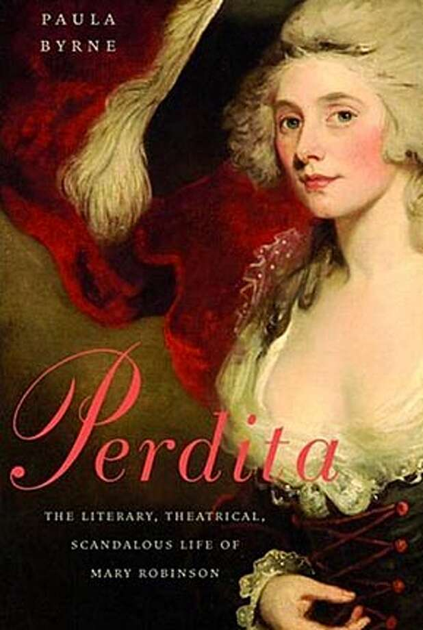 Book cover art for, Perdita.
