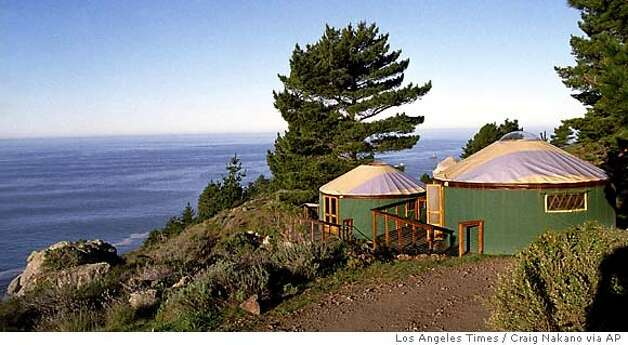Yurts so good treebones resort in big sur provides for Oregon state parks yurts and cabins