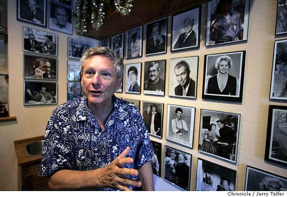 """stanley03_014_jlt.JPG Event on 9/24/04 in Pacifica. John Stanley is a former TV writer for the Chronicle who has at various times been an author, a movie director, a creator of crossword puzzles, a lecturer, and the host of KTVU's """"Creature Features"""" horror movie show. Chronicle photo by Jerry Telfer / The Chronicle MANDATORY CREDIT FOR PHOTOG AND SF CHRONICLE/ -MAGS OUT Datebook#Datebook#SundayDateBook#10-03-2004#ALL#Advance##0422372088 Photo: Jerry Telfer"""