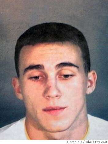 "Event on 10/1/04 in Livermore  Booking photo of Richard Townsend, 19, one of seven members of a street gang, known as ""CBF"" of ""Can't Be Faded"" has terrorized some citizens of the town of Pleasanton causing the Pleasanton Police Department to crack down and make arrests. Additional arrests are expected.  Chris Stewart / The Chronicle Photo: Chris Stewart"
