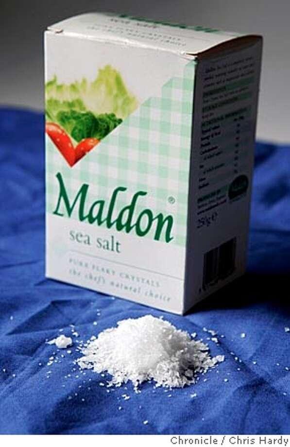 whats23maldon_ch_013.jpg  Maldon Sea Salt from England, used by trendy chefs in San Francisco  3/17/05 Chris Hardy / San Francisco Chronicle Photo: Chris Hardy