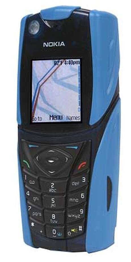 Cell phone, Nokia 5140.