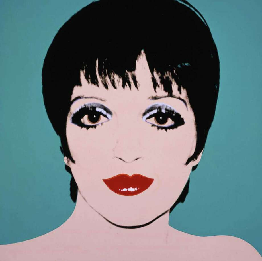 "Andy Warhol's ""Liza Minelli, 1979"" is featured in ""Andy Warhol: Fame and Misfortune"" at the McNay Art Museum. Photo: Courtesy Andy Warhol Museum"