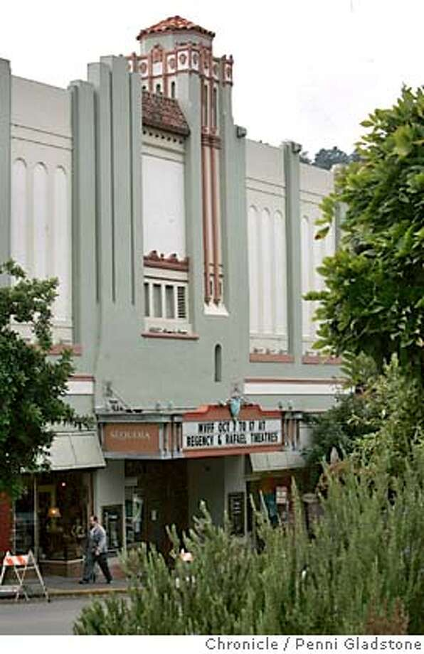 SEQUOIA_gladstone  _GLADSTONE016.JPG.  historic Sequoia theater in mill valley forced to close due to ceiliing falling in and for4ced the MV film fest to go to another site in OCT  MILL VALLEY on 9/29/04 by Penni Gladstone  Photo by staff photographer Penni Gladstone  San Francisco Chronicle Metro#Metro#Chronicle#9/29/2004#ALL#5star#b1#0422379527 Photo: Penni Gladstone
