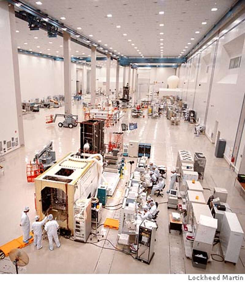 Photo of state-of-the-art satellite manufacturing center where the Mobile User Objective System (MUOS) will be built. Last year Lockheed Martin was awarded a $3.26 billion contract to build MUOS which will deliver simultaneous voice, data and video services with cell-phone like functionality to U.S. forces on the move. Photo: Courtesy of Lockheed Martin Photo: Lockheed Martin