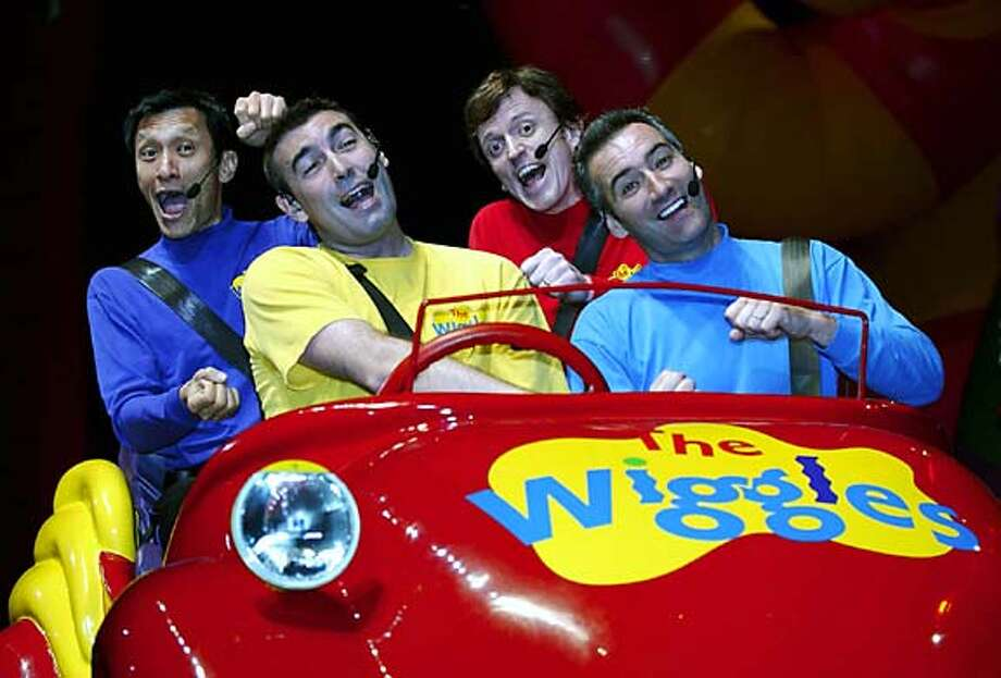 The Wiggles arrive in their Big Red Car! c) 2004 HIT Entertainment PLC. All rights reserved. Photo: HIT