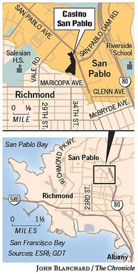 Tribe to limit size, scope of casino in San Pablo / Decision tables ...