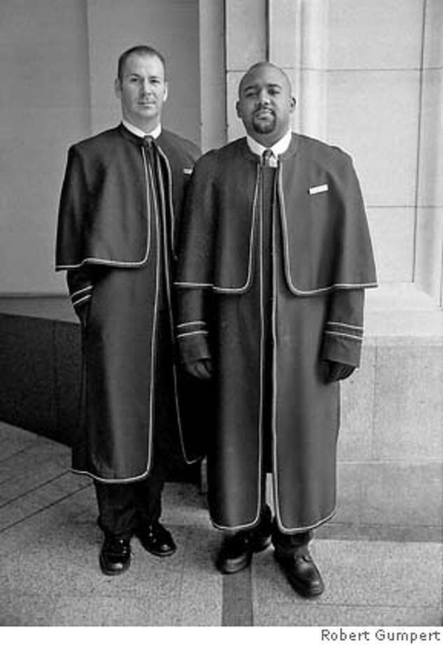 San Francisco, CA. 1999: Doormen