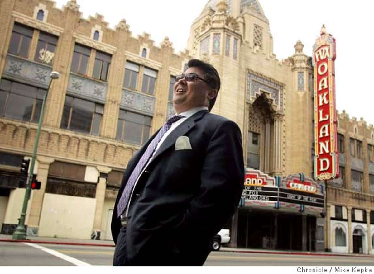 johnson18061_mk.jpg Oakland real estate developer, Phil Tagami has claimed the Fox Theater as one of his latest projects. Mike Kepka / The Chronicle MANDATORY CREDIT FOR PHOTOG AND SF CHRONICLE/ -MAGS OUT