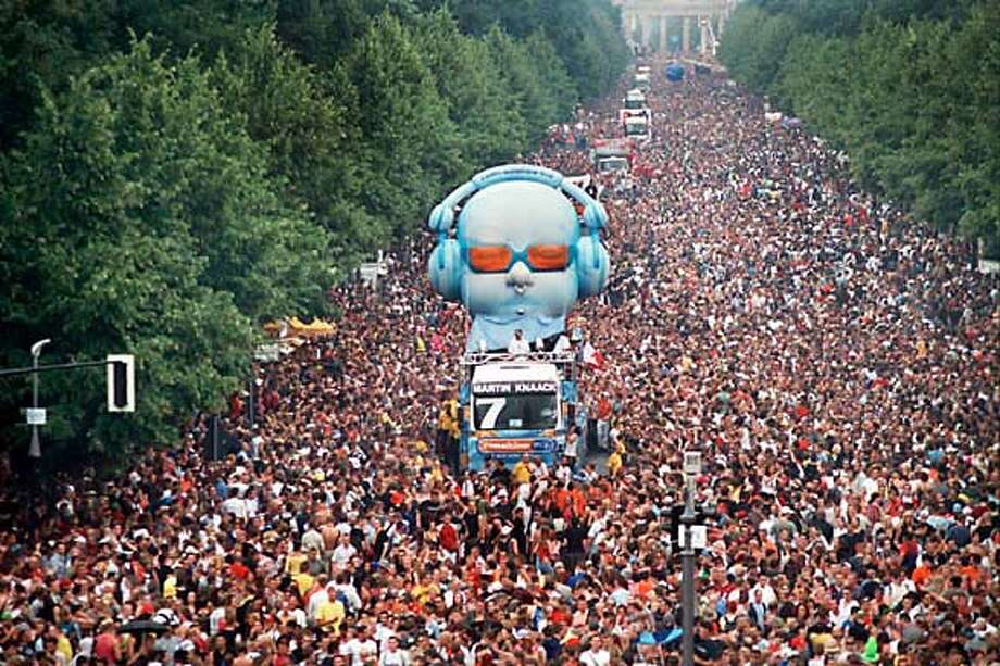 love parade in berlin  courtesy of love parade