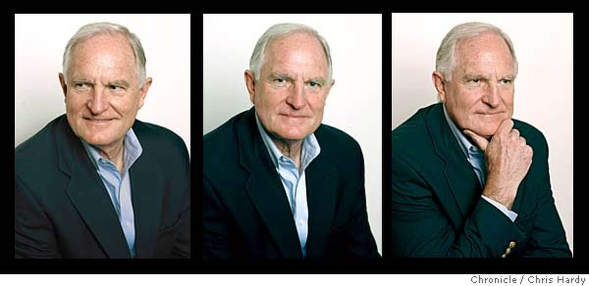 Intel CEO Craig Barrett. Chronicle photos by Chris Hardy