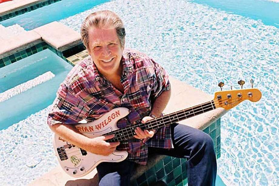(NYT63) BEVERLY HILLS, Calif. -- September 8, 2004 -- ADVANCE FOR SUNDAY, SEPTEMBER 12, 2004 -- BRIAN-WILSON-SMILE -- Brian Wilson at his home in Beverly Hills, Calif., on August 31, 2004. (Marissa Roth/The New York Times) XNYZ Photo: MARISSA ROTH
