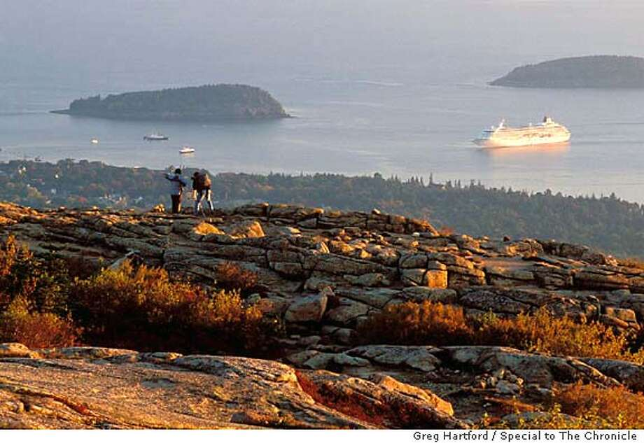 cadillac-mtn-18.jpg  fall colors in Acadia National Park on Mount Desert Island in Maine. 9/20/04 in Bar Harbor. Greg Hartford / Special to The Chronicle Photo: Greg Hartford
