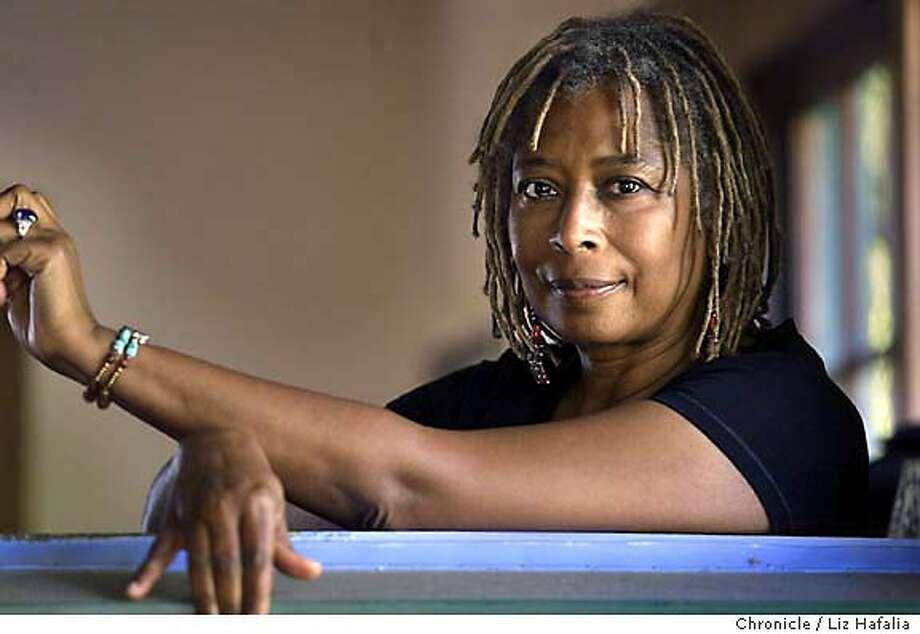 WALKER26_032_LH.JPG Alice Walker at home as we look at her 20 year career. Shot on 9/10/04 in Berkeley. LIZ HAFALIA / The Chronicle MANDATORY CREDIT FOR PHOTOG AND SF CHRONICLE/ -MAGS OUT Photo: LIZ HAFALIA