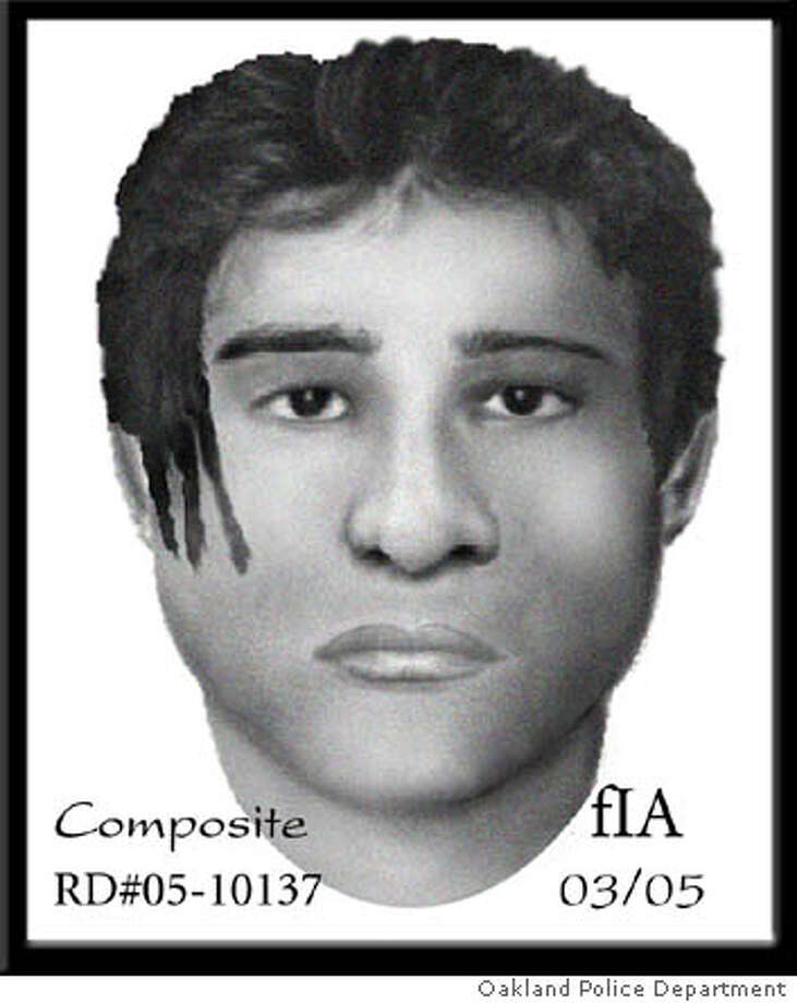 Oakland police release�composite sketches of a rapist sought in three recent attacks in the downtown Chinatown area. The man picks his victims during daylight hours in areas heavily traveled by cars. He also beats and robs his victims and even bit one woman until she bled. Photo: Courtesy Of Oakland Police Depar