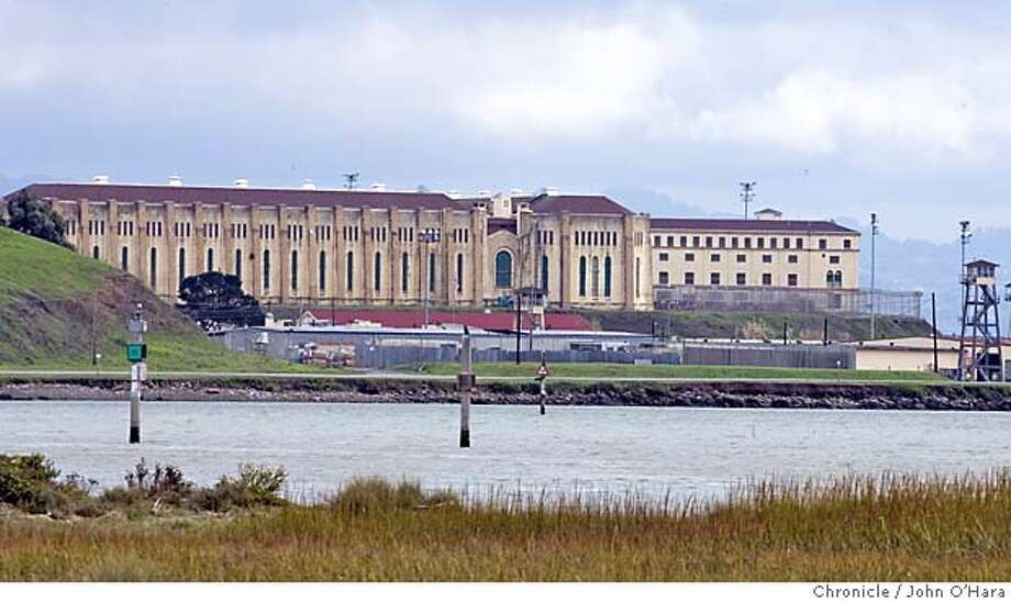 San Quentin Prison. Exterior views showing prison from Larkspur Ferry Landing and Paradise Cay  photo/ John O'Hara Photo: John O'Hara