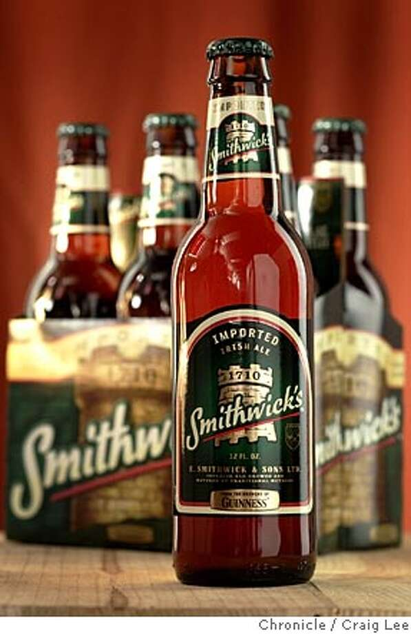 BOM17_058_cl.JPG  Beer of the Month feature. Photo of Smithwick's Irish Ale.  Event on 3/10/05 in San Francisco. Craig Lee / The Chronicle MANDATORY CREDIT FOR PHOTOG AND SF CHRONICLE/ -MAGS OUT Photo: Craig Lee