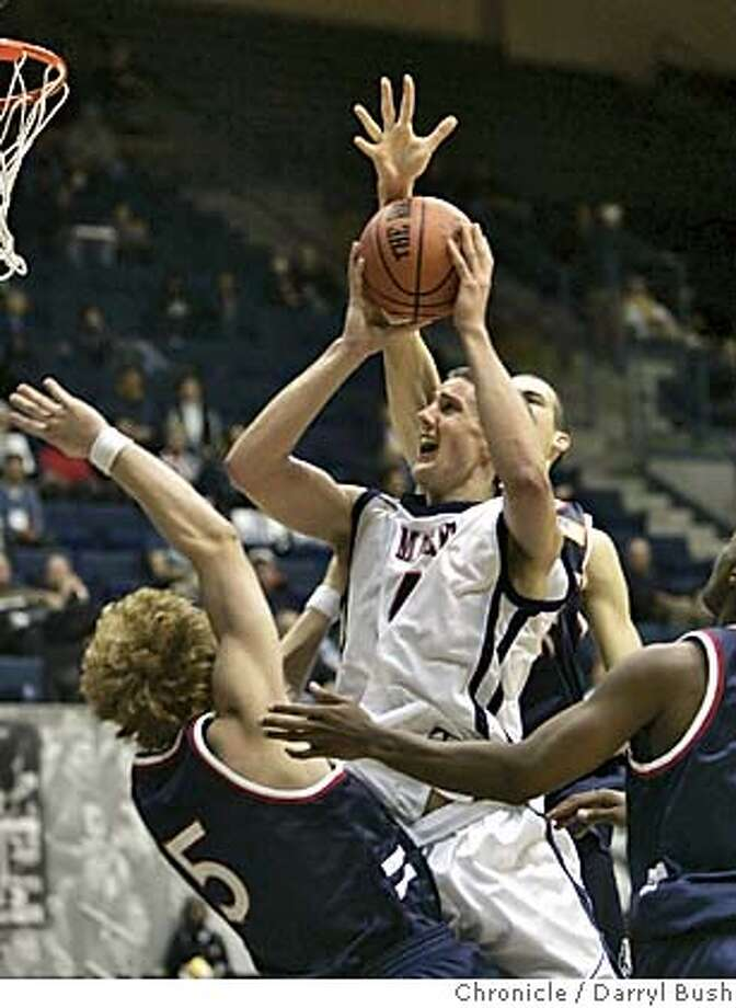 stmarys_009_db.jpg  St. Mary's College Daniel Kickert (14) drives to basket in traffic as Belmont (5) Dan Oliver, left, guards in the second half at Hass Pavilion. 11/11/04 in Berkeley  Darryl Bush / The Chronicle Ran on: 11-12-2004  Rod Benson gets down a dunk in the first half, setting the tone for Cal, which started strong to drop UC Riverside. Ran on: 11-12-2004  Rod Benson tosses down a dunk in the first half for Cal, which breezed to a 17-point win over UC Riverside. Ran on: 01-30-2005  Richard Midgley Ran on: 01-30-2005  Richard Midgley Ran on: 01-30-2005  Richard Midgley Ran on: 01-30-2005  Richard Midgley MANDATORY CREDIT FOR PHOTOG AND SF CHRONICLE/ -MAGS OUT Photo: Darryl Bush