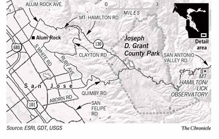 Joseph D. Grant County Park. Chronicle Graphic Photo: Joe Shoulak