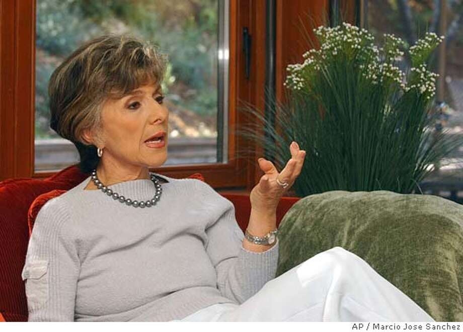 ** ADVANCE FOR SUNDAY, SEPT. 19 ** Sen, Barbara Boxer, D-Calif, discusses politics at home in Greenbrae, Calif., on Friday, Aug. 20, 2004. Boxer is seeking a third term and is running against Republican Bill Jones. (AP Photo/Marcio Jose Sanchez) Photo: MARCIO JOSE SANCHEZ