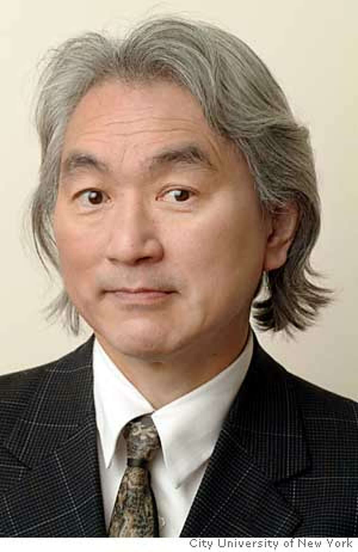 Photo of physicist Michio Kaku of City University of New York. (For story about his disagreement with Lawrence Krauss). Photo: Courtesy of City University of New York