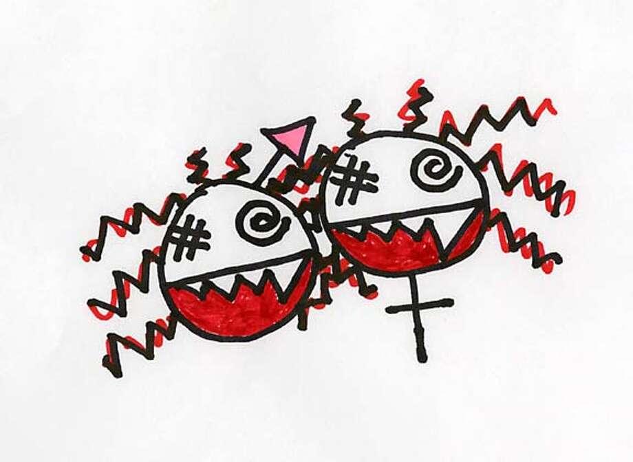 """Illustration for Neva Chronin's """"Live Rude Girl"""" column for 3/13"""