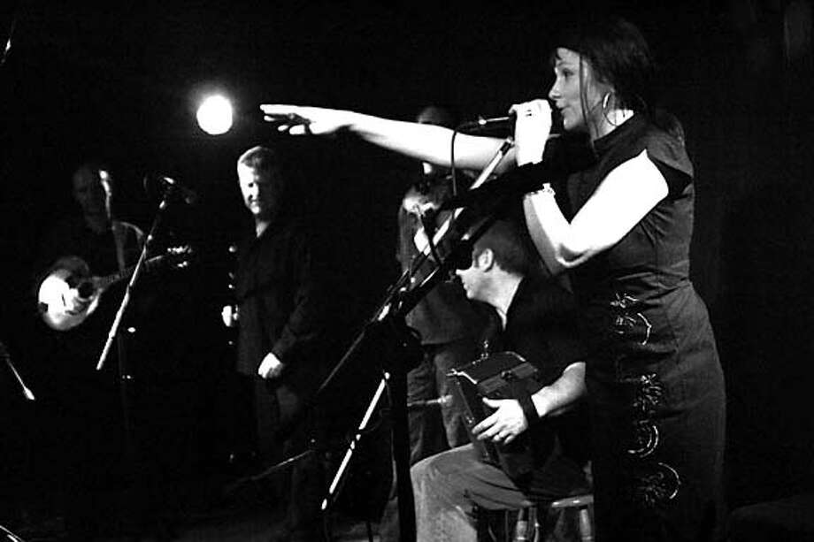 Cathy Jordan and Irish band Dervish