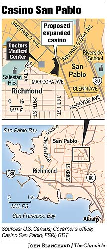 San Pablo casino deal rejected by key sponsor / Lawmaker\'s push to ...