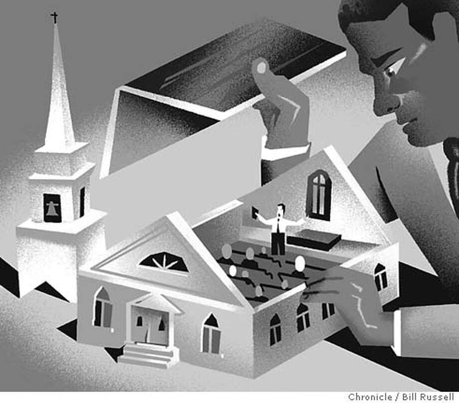 Getting down to fundamentals: 20-year study of working-class Christianity shuns cliche. Chronicle illustration by Bill Russell Photo: Bill Russell