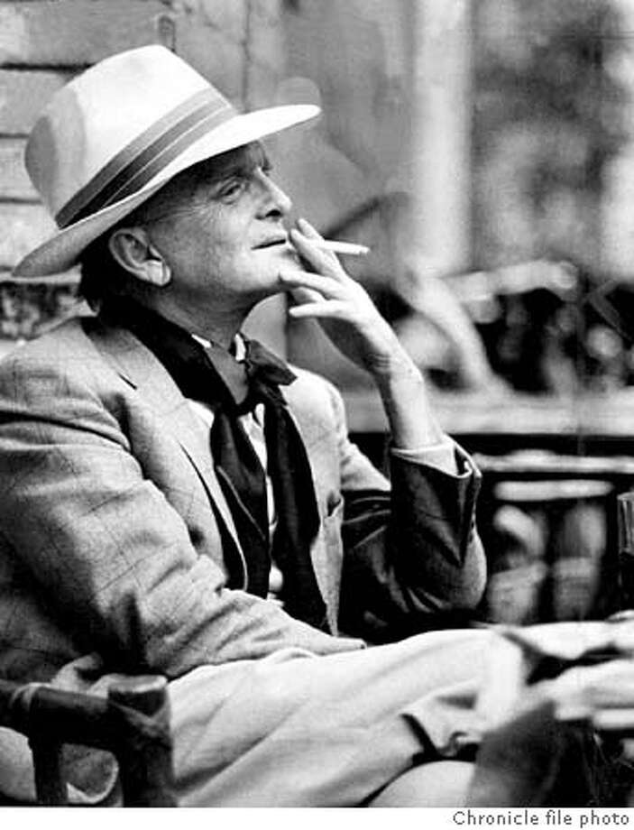 Truman Capote reveals much about the sex lives and writing talent of his friends in his correspondence. / Chronicle File Photo, 1979