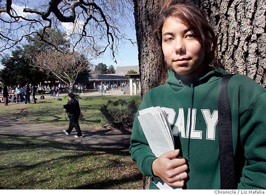 Nicole Adams, a senior at Gunn High School in Palo Alto, started a nonprofit, volunteer organization three years ago called Your Memoir, which helps to bridge the gap between first-generation Japanese immigrants and their English speaking posterity by providing free translation services. Shot in Palo Alto on 3/2/05. Photo: Liz Hafalia