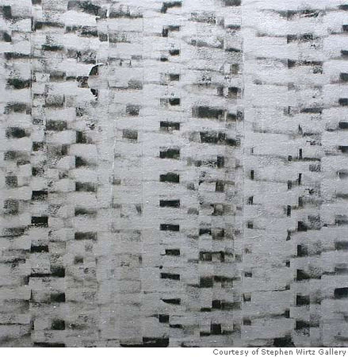 "GALS17_003.JPG ""Mental"" (2003), alkyd on canvas, 24 x 24 inches by Rick Arnitz Courtesy of Stephen Wirtz Gallery"