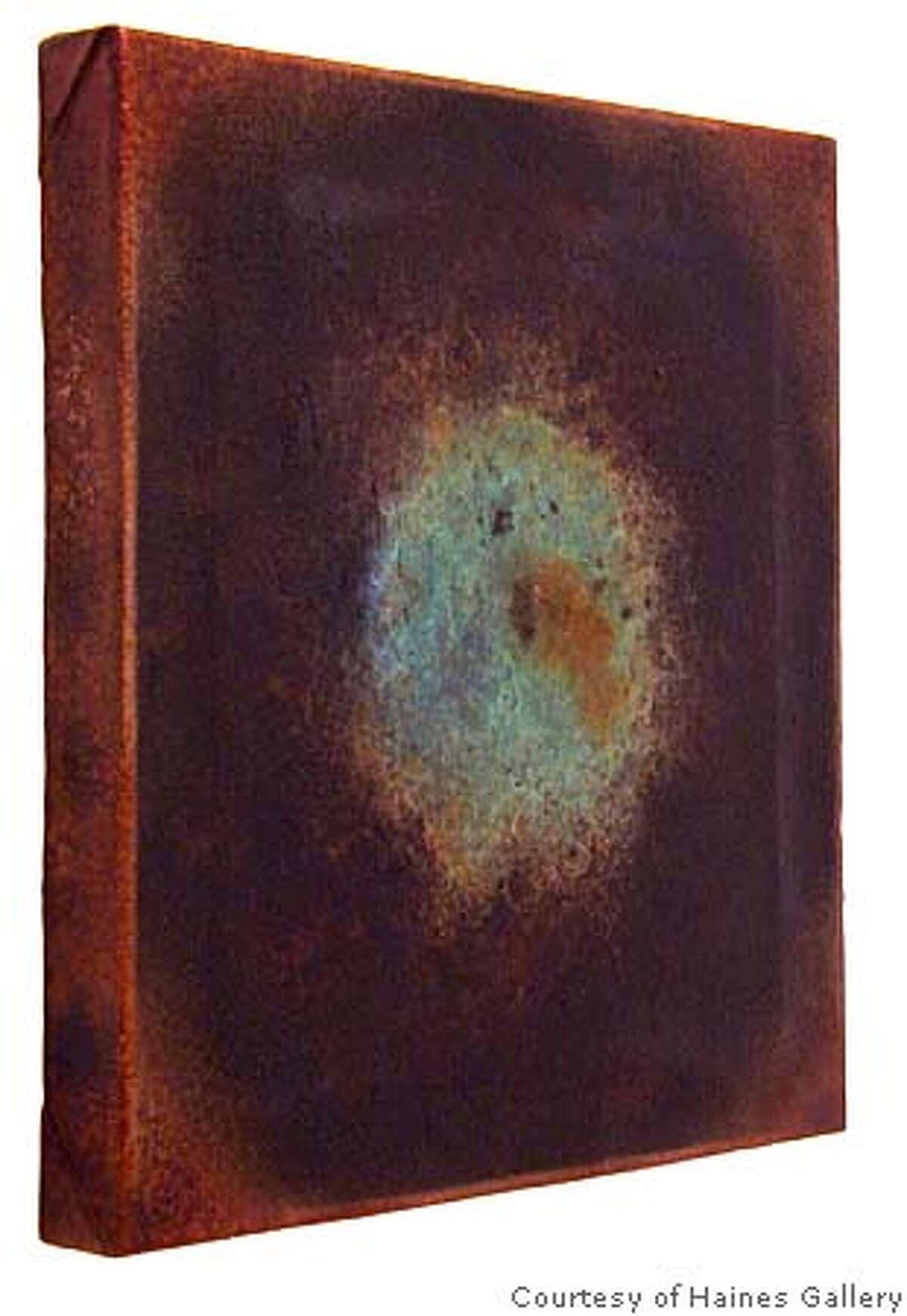 "GALS17_002.JPG ""appalachia canvas #8""[cq] (2004) Bronze by Yoshitomo Saito Courtesy of the artist and Haines Gallery"