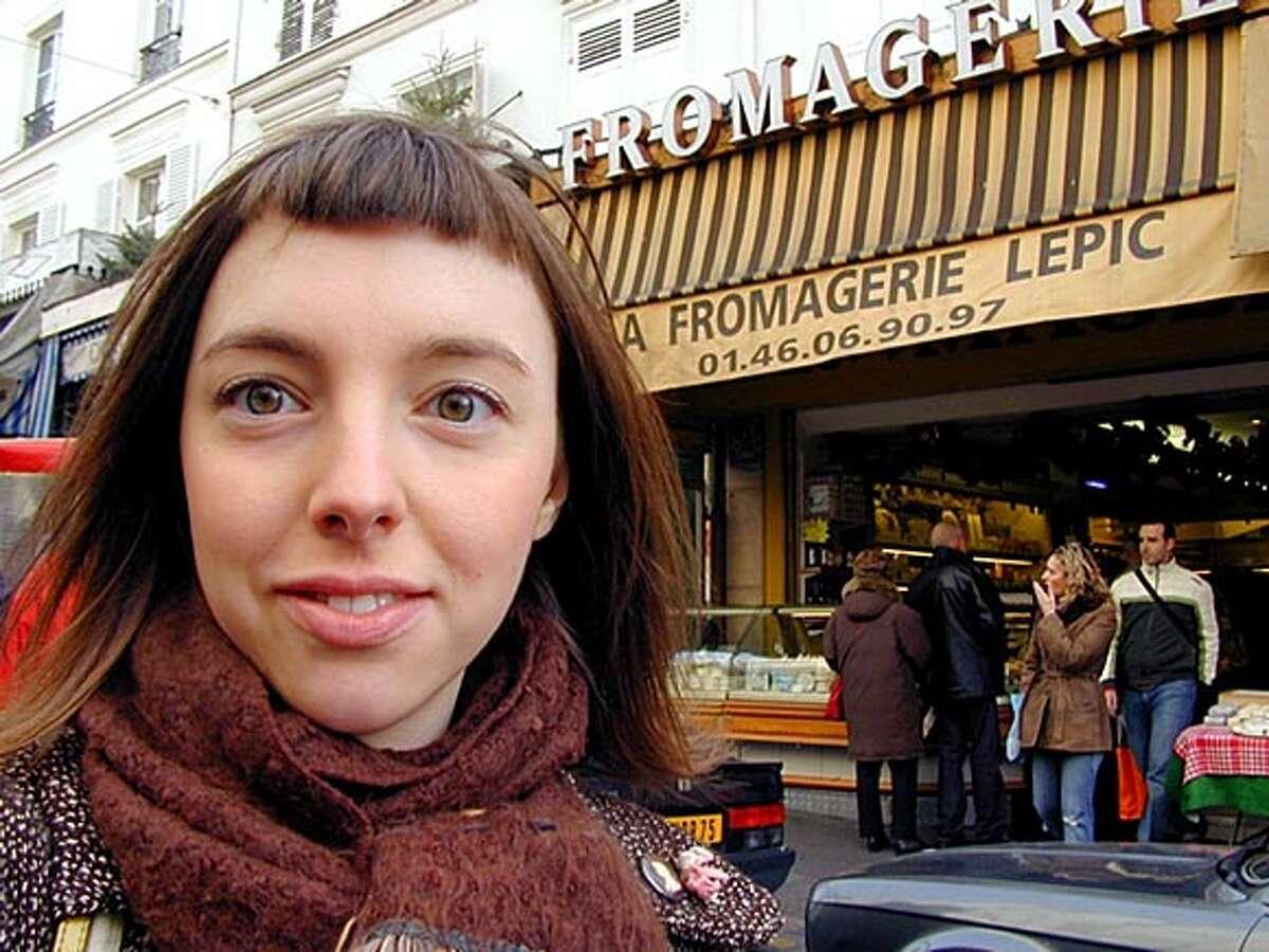 Clotilde Dusoulier in Paris.