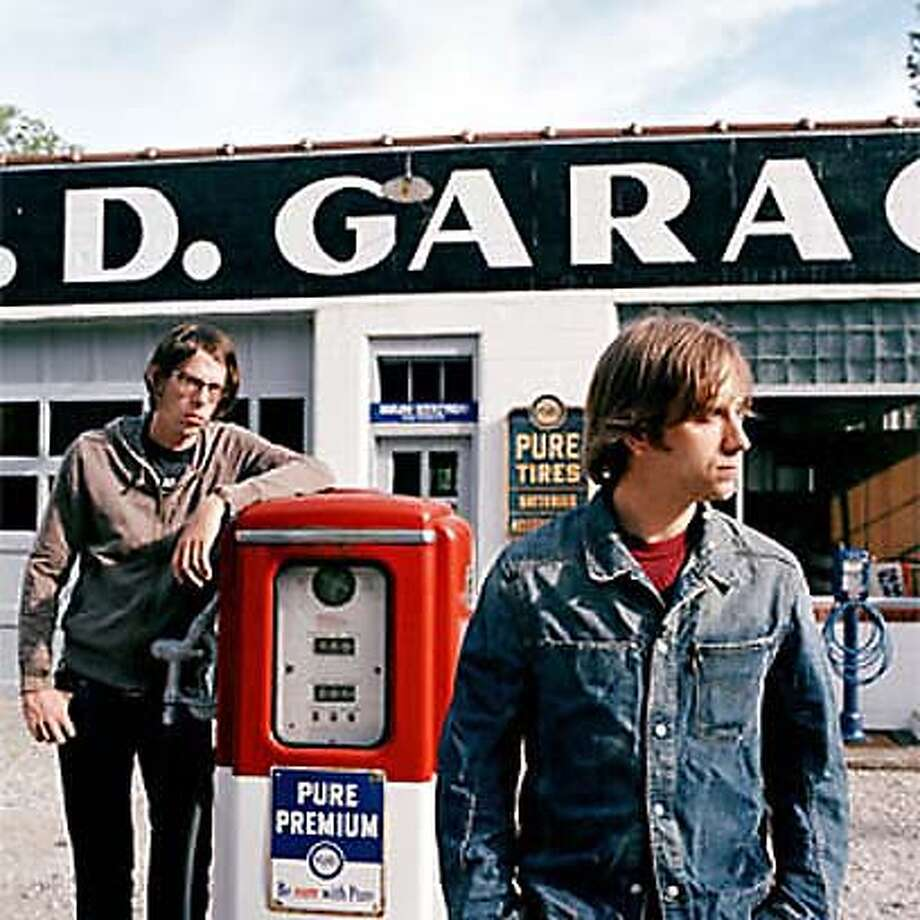 Black Keys' Patrick Carney (left) and Dan Auerbach.