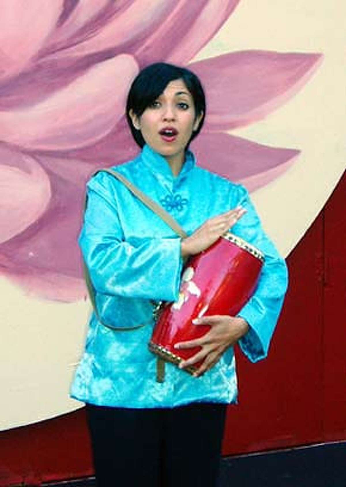 Natalie Amaya of Oakland plays Mei-Li in Woodminster Summer Musicals' production of