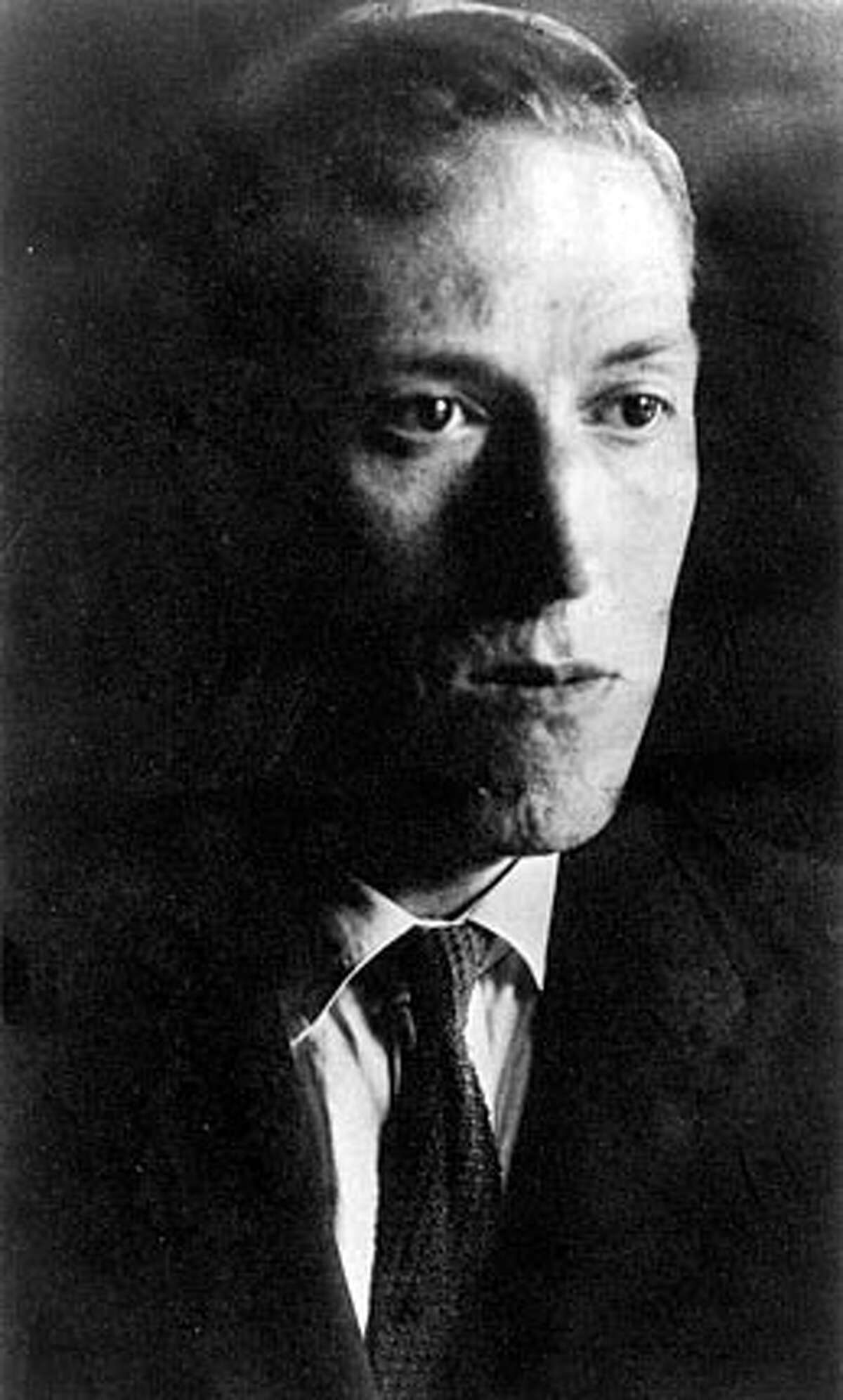 """H.P. Lovecraft from """"The Collected Stories of H.P. Lovecraft"""" (The Library of America) FOR USE WITH BOOK REVIEW ONLY"""