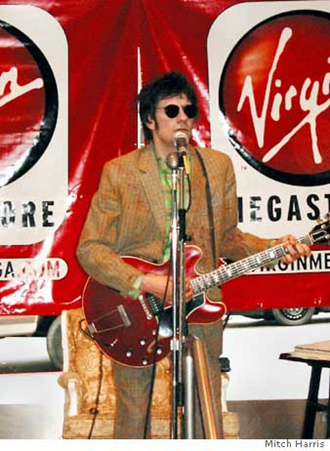 westerberg05a.JPG Paul Westerberg, singer and guitarist, at his last San Francisco performance, April 24, 2002. He performed an in-store concert at the Virgin Megastore on Market Street and leaped off the stage to attack a heckler. PLEASE CREDIT: Mitch Harris