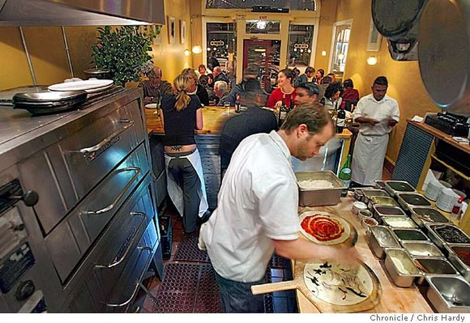 Dopo restaurant on Piedmont Ave in Oakland, known for its pizzas. in Oakland  2/16/05 Chris Hardy / San Francisco Chronicle Photo: Chris Hardy