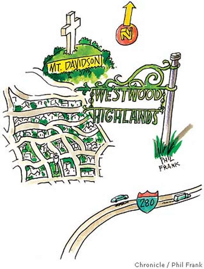 Westwood Highlands. Chronicle illustration by Phil Frank
