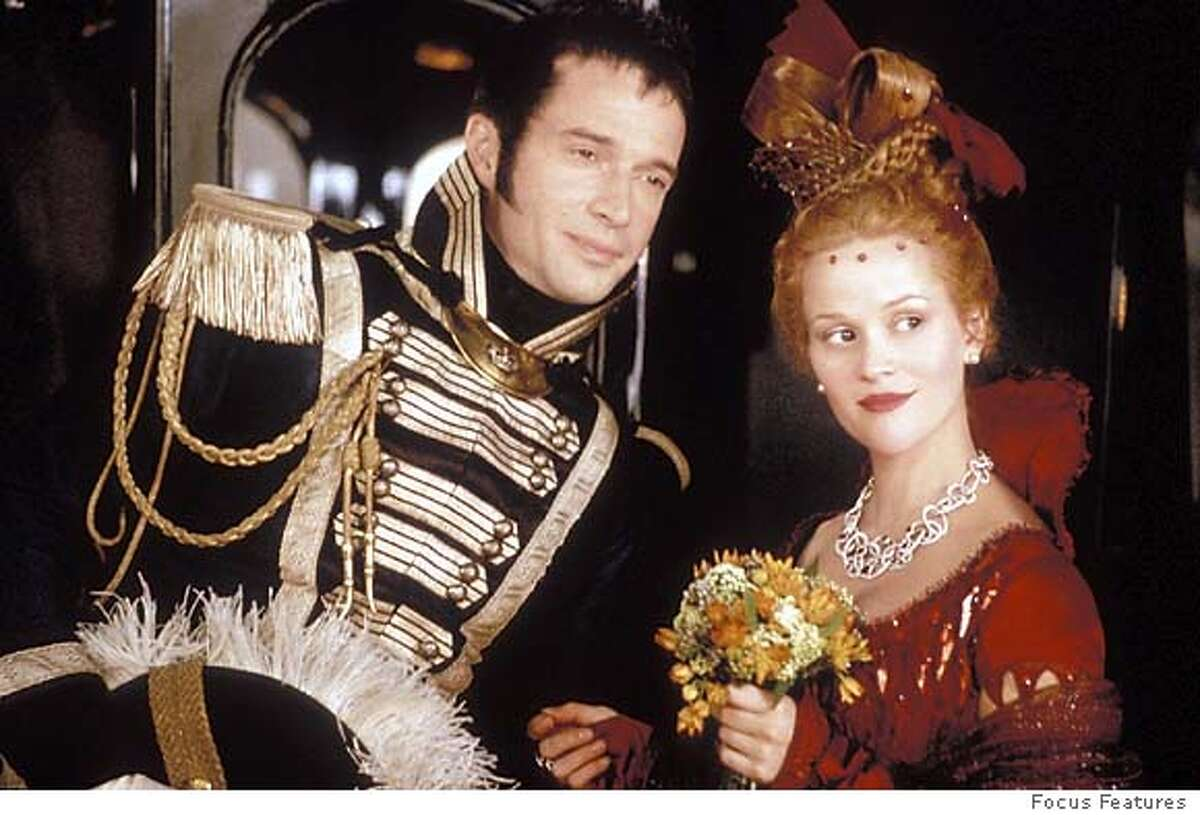 (Left to right) James Purefoy and Reese Witherspoon star in Mira Nairs