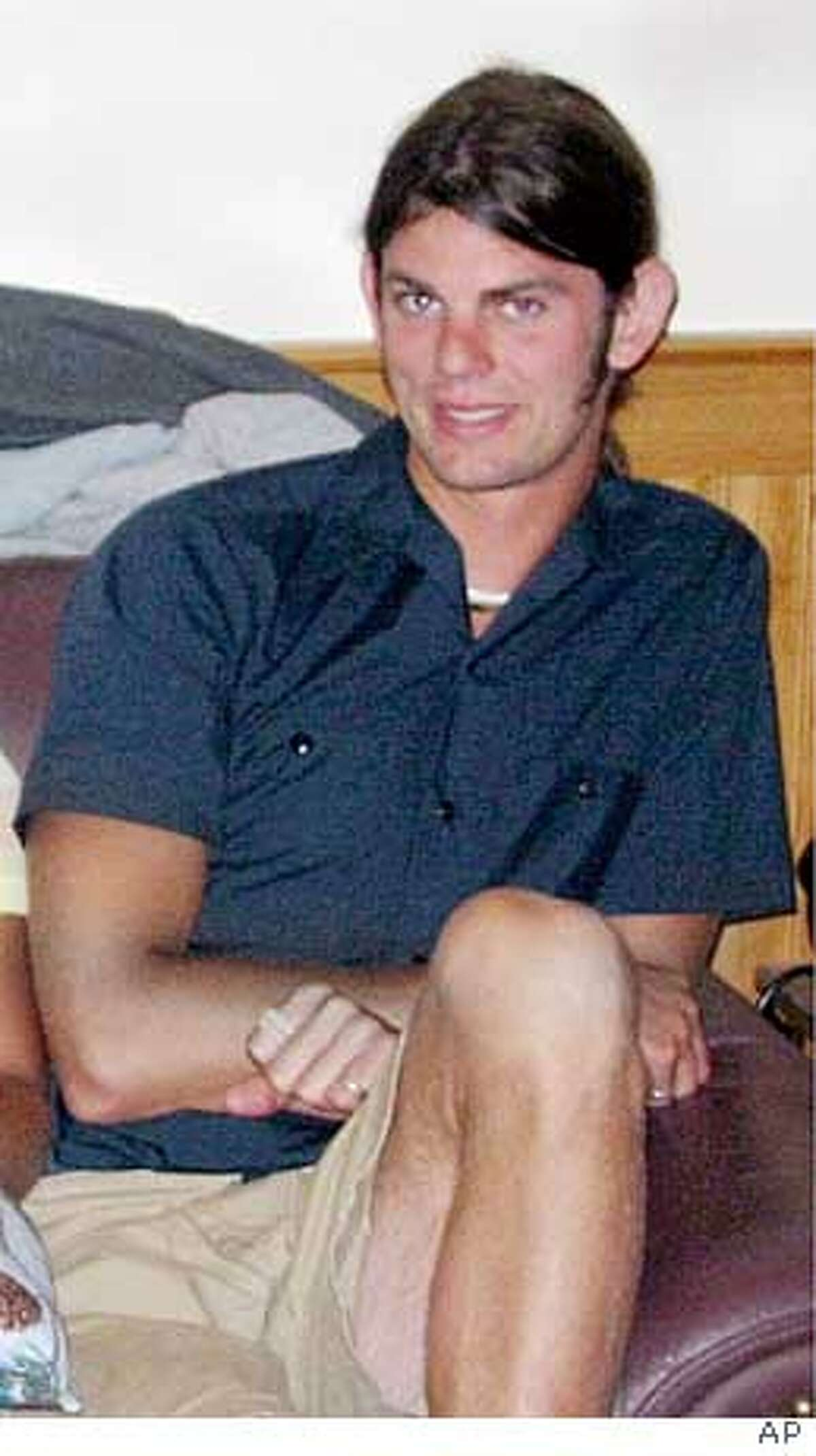 ** FILE ** Jason Allen is shown in this undated file photo. Two camp counselors who were reported missing earlier this week were murdered in their sleep on a Sonoma County beach less than a month before their wedding, authorities said. The bodies of Lindsay Cutshall, 23, and Jason Allen, 26,were discovered in sleeping bags about three miles north of Jenner on Wednesday afternoon, Aug. 18, 2004, when sheriff's deputies were rescuing a stranded hiker, the Sonoma County Sheriff's Department said. (AP Photo/Sonoma County Sheriff) Ran on: 08-21-2004 Two bodies were found at Fish Head Beach in Sonoma County. Ran on: 08-21-2004 Two bodies were found at Fish Head Beach in Sonoma County. Ran on: 08-22-2004 Lindsay Cutshall Ran on: 08-22-2004 Lindsay Cutshall Ran on: 08-23-2004 Jason Allen Ran on: 08-23-2004 Jason Allen