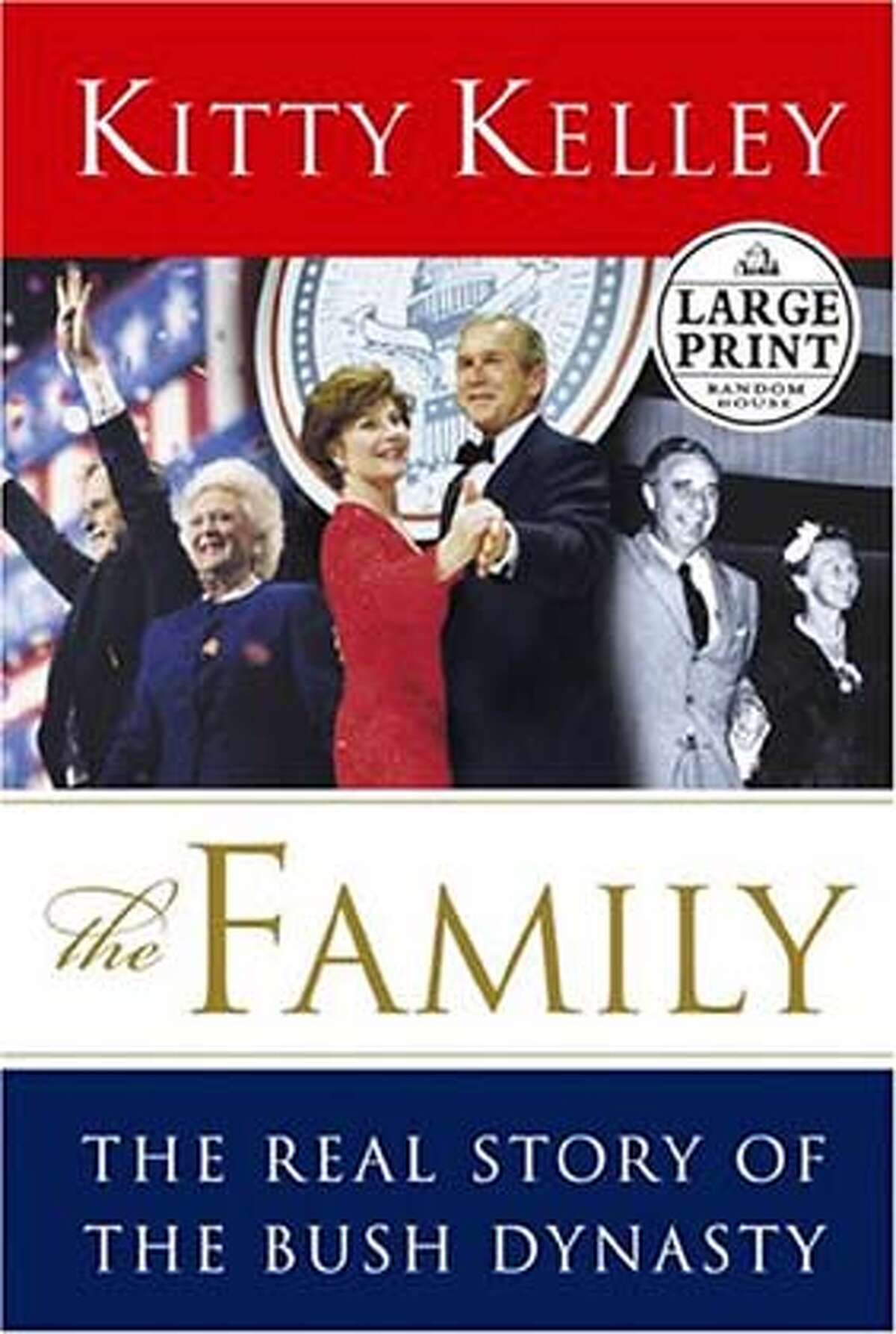 fallbooks29j.JPG Book cover of THE FAMILY by Kitty Kelley HANDOUT BookReview#BookReview#Chronicle#08-29-2004#ALL#Advance#M3#0422293490