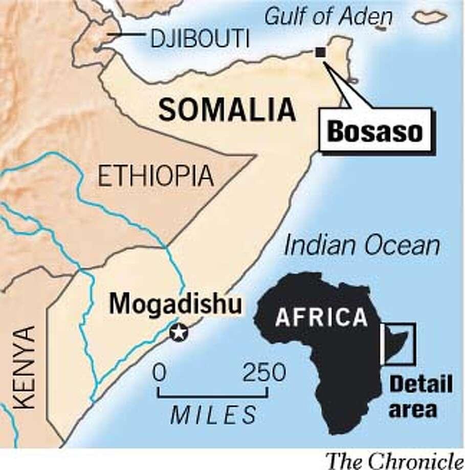 Somalia. Chronicle Graphic