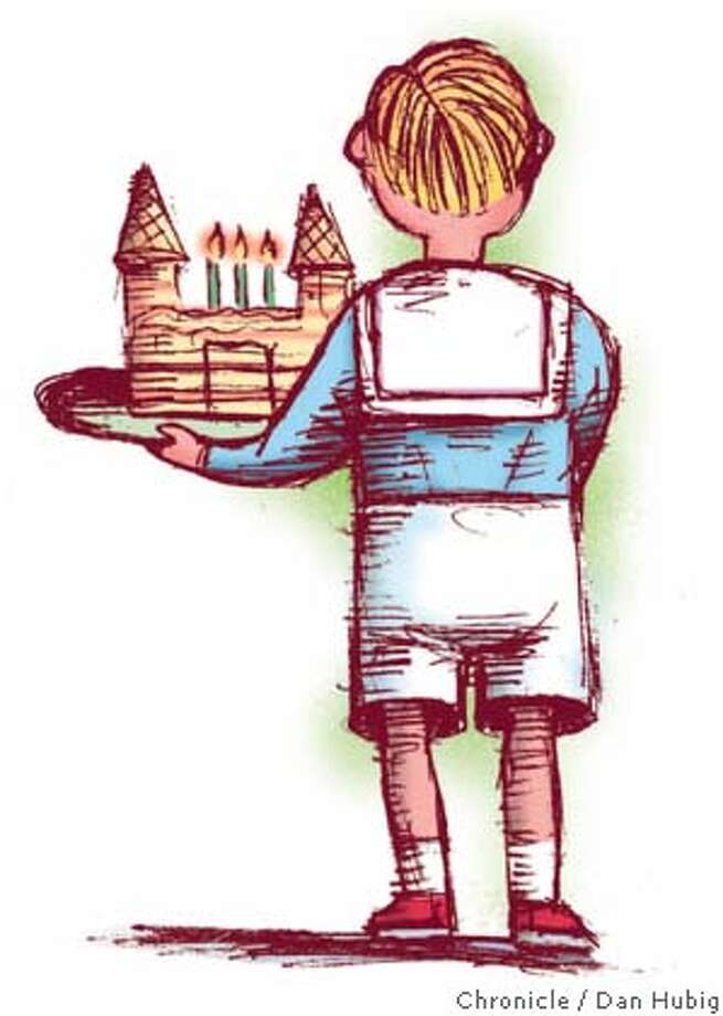 The Enchanted Castle: When baking becomes bonding. Chronicle illustration by Dan Hubig