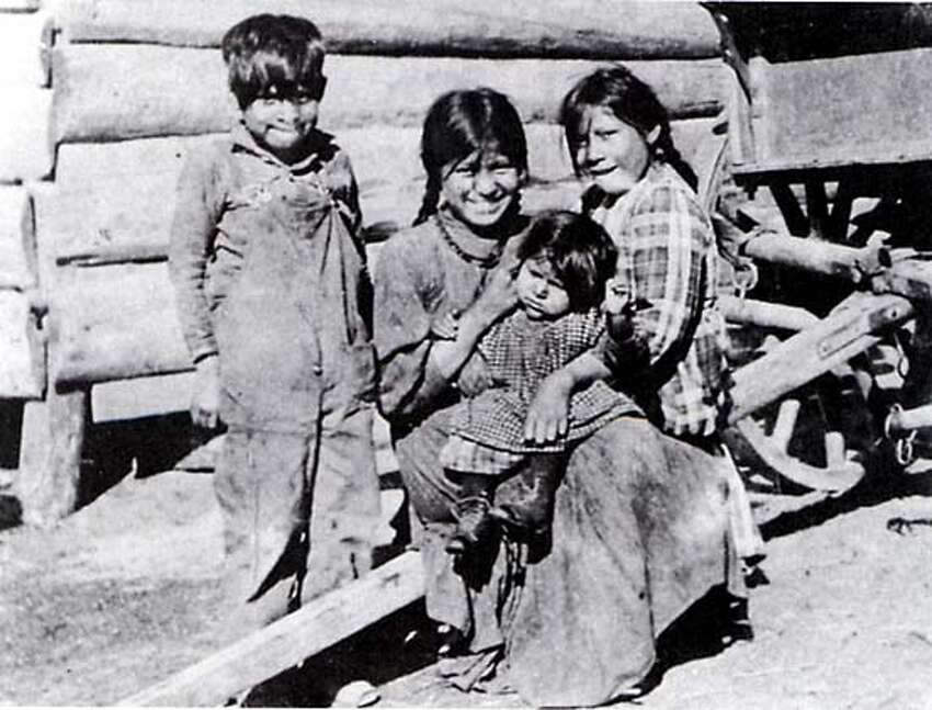 Martin Cross as a boy, with his sisters.