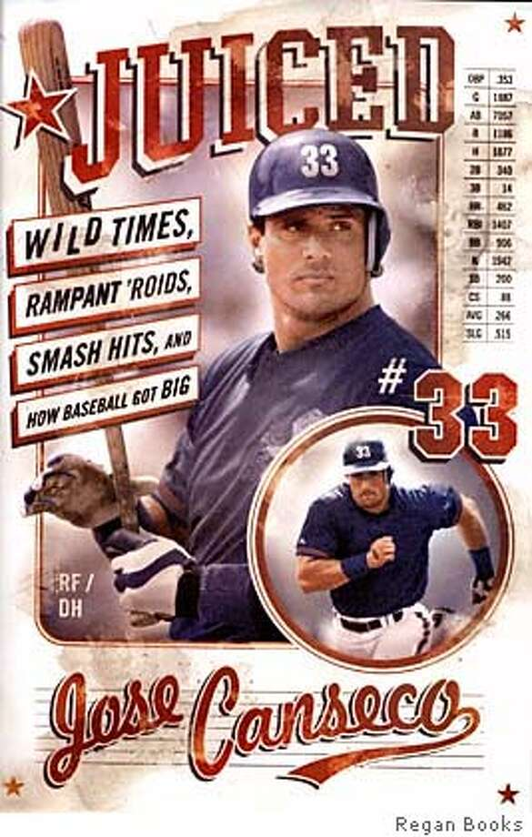Jose Canseco  Book cover  Juiced